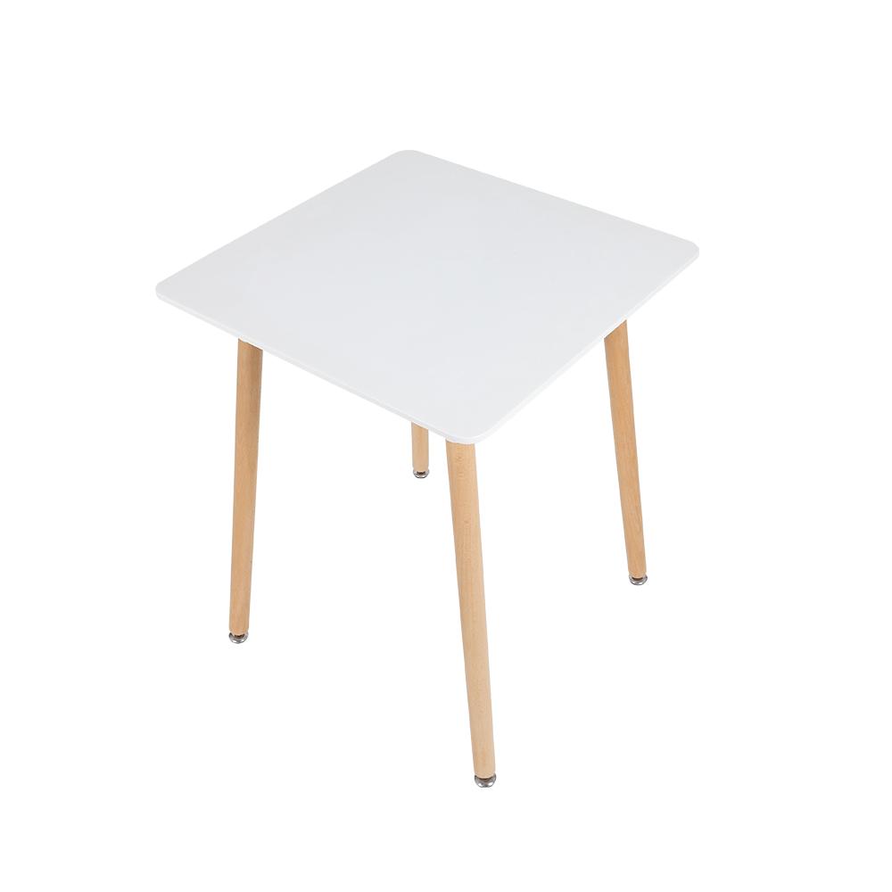 يوتريد طاولة نيت هوم عصرية باللون الأبيض الجذاب مصنوعة من خشب الزان