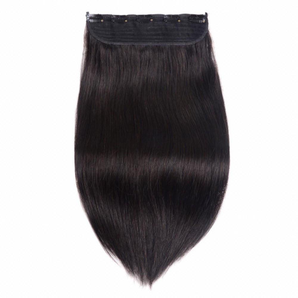 كلبسات شعر أسود طبيعي