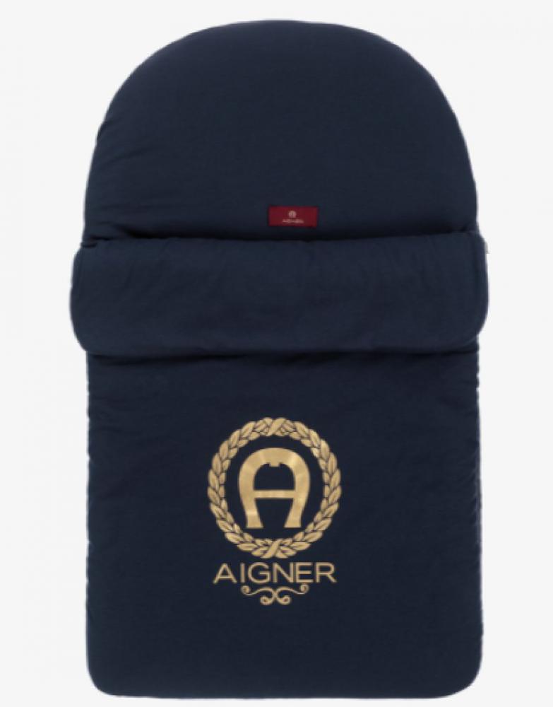 غطاء واقي من البرد لحديثي الولادة من ماركة  Aigner من  دوها