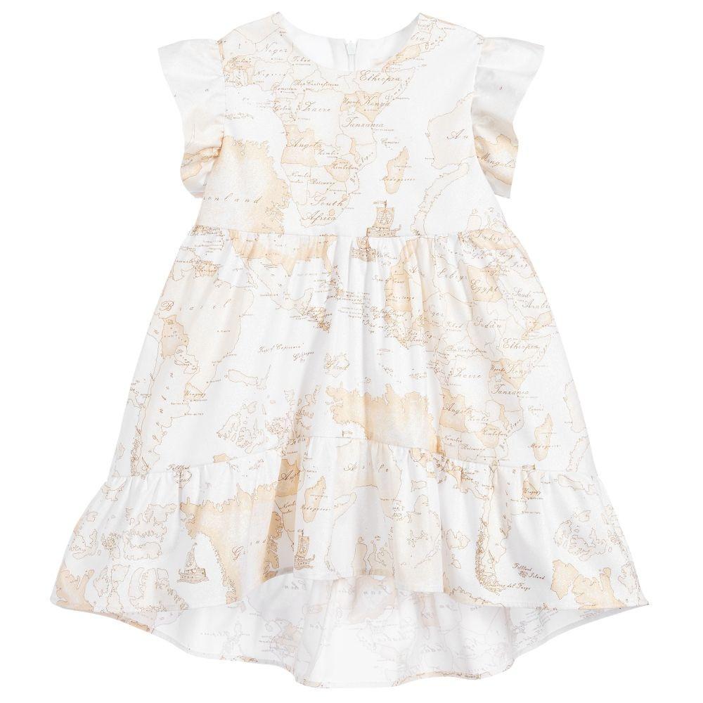 فستان كلاسيك من ماركة Alviero Martini من دوها