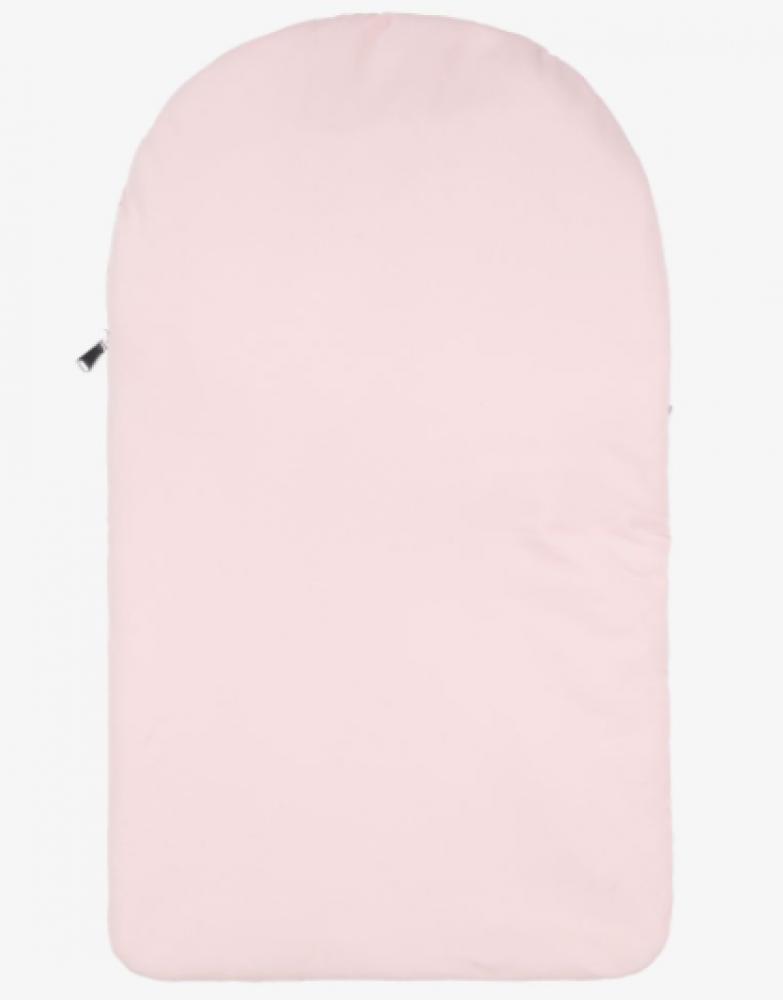غطاء واقي من البرد لحديثي الولادة باللون الزهري ماركة  Aigner من دوها