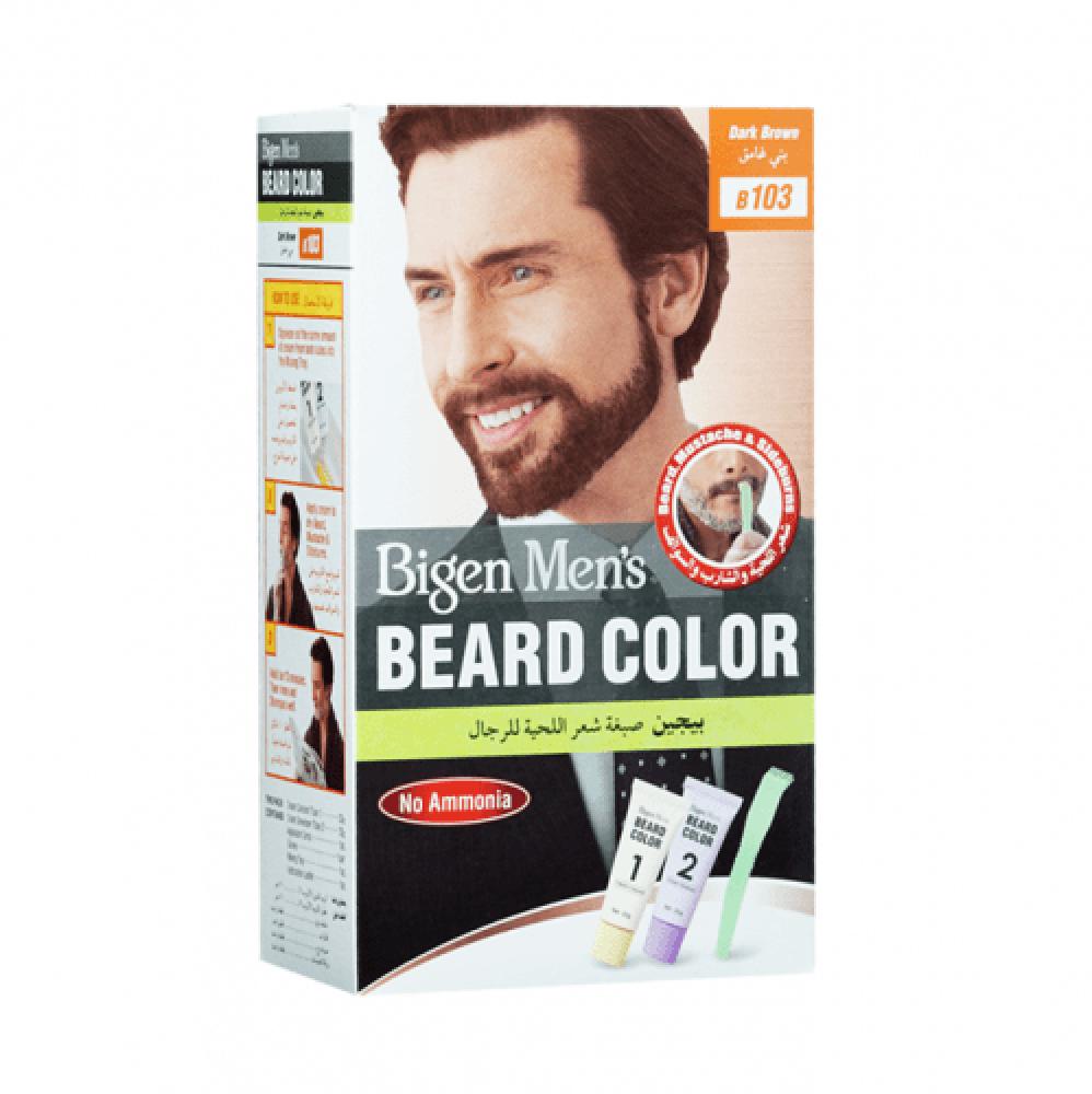 صبغة شعر اللحية للرجال من بيجين - بني غامق بي 103