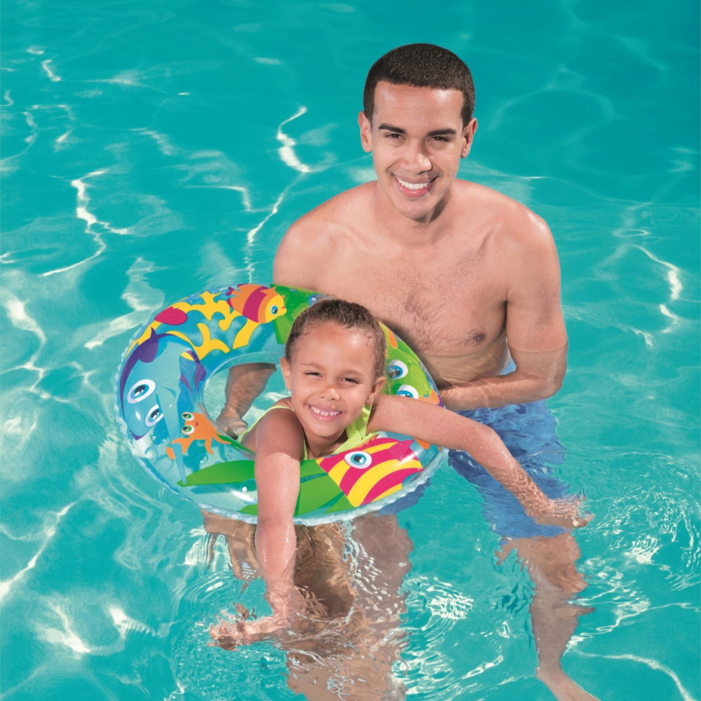 تعليم الاطفال السباحه