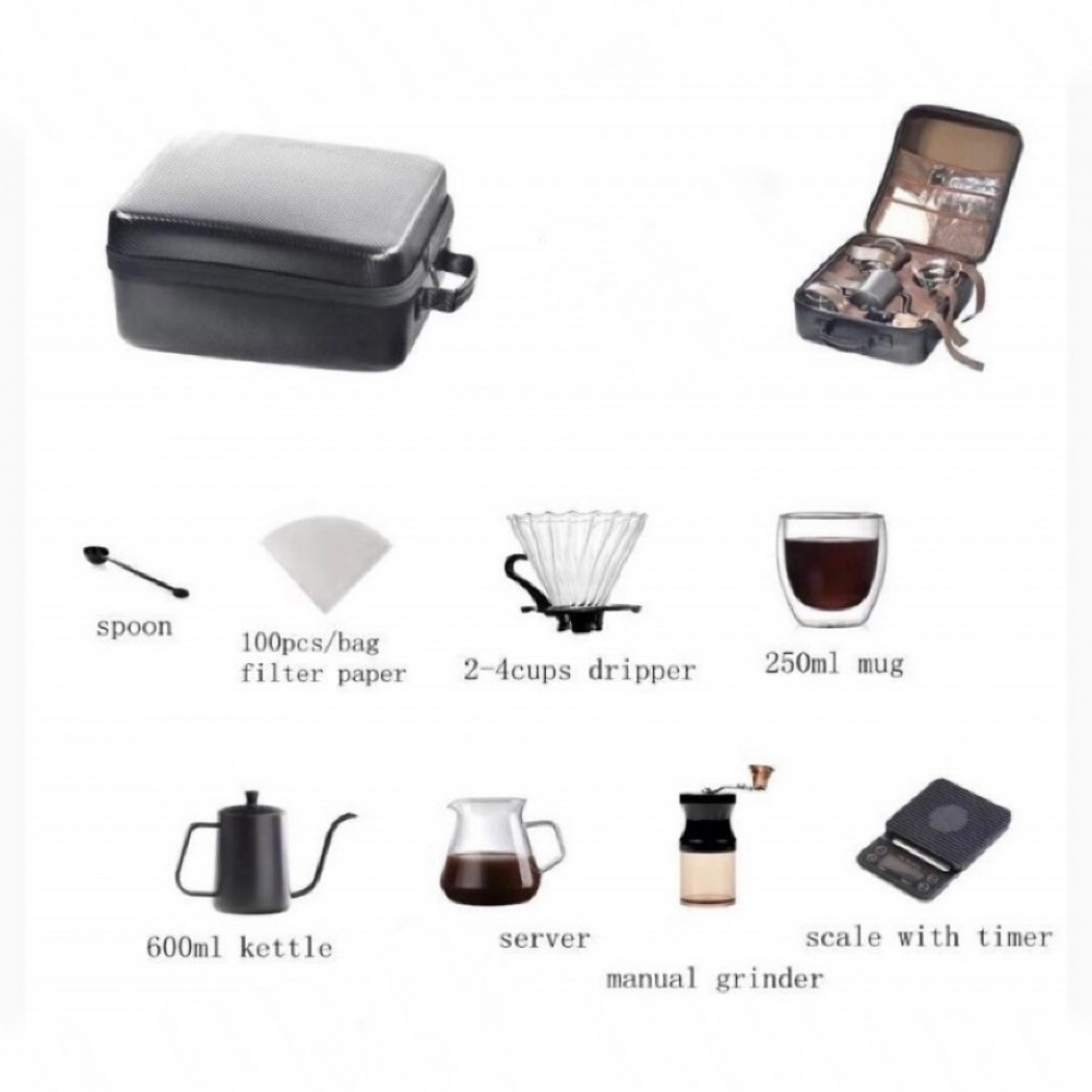 قهوة مختصه ادوات مختصة سيرفر قمع ميزان في 60