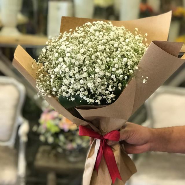 بوكيه جبسوفيليا زهور ايفنتو