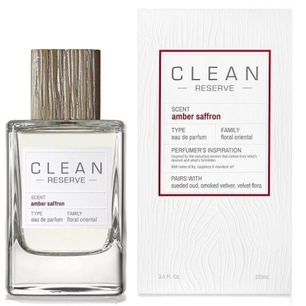 Clean Reserve Amber Saffron Eau de Parfum 100ml خبير العطور