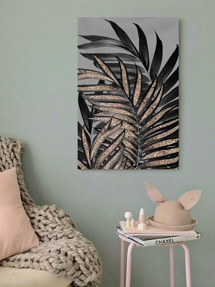 لوحة أوراق الشجر خشب ام دي اف مقاس 40x60 سنتيمتر