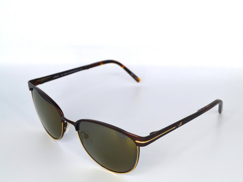 نظاره شمسية نسائية من ماركة RETRO لون العدسة ذهبي