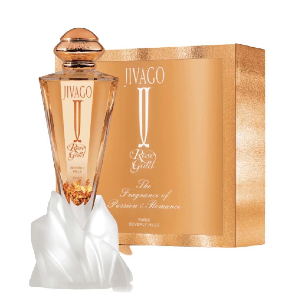 jivago Rose Gold for Woman Eau de Parfum 75ml خبير العطور