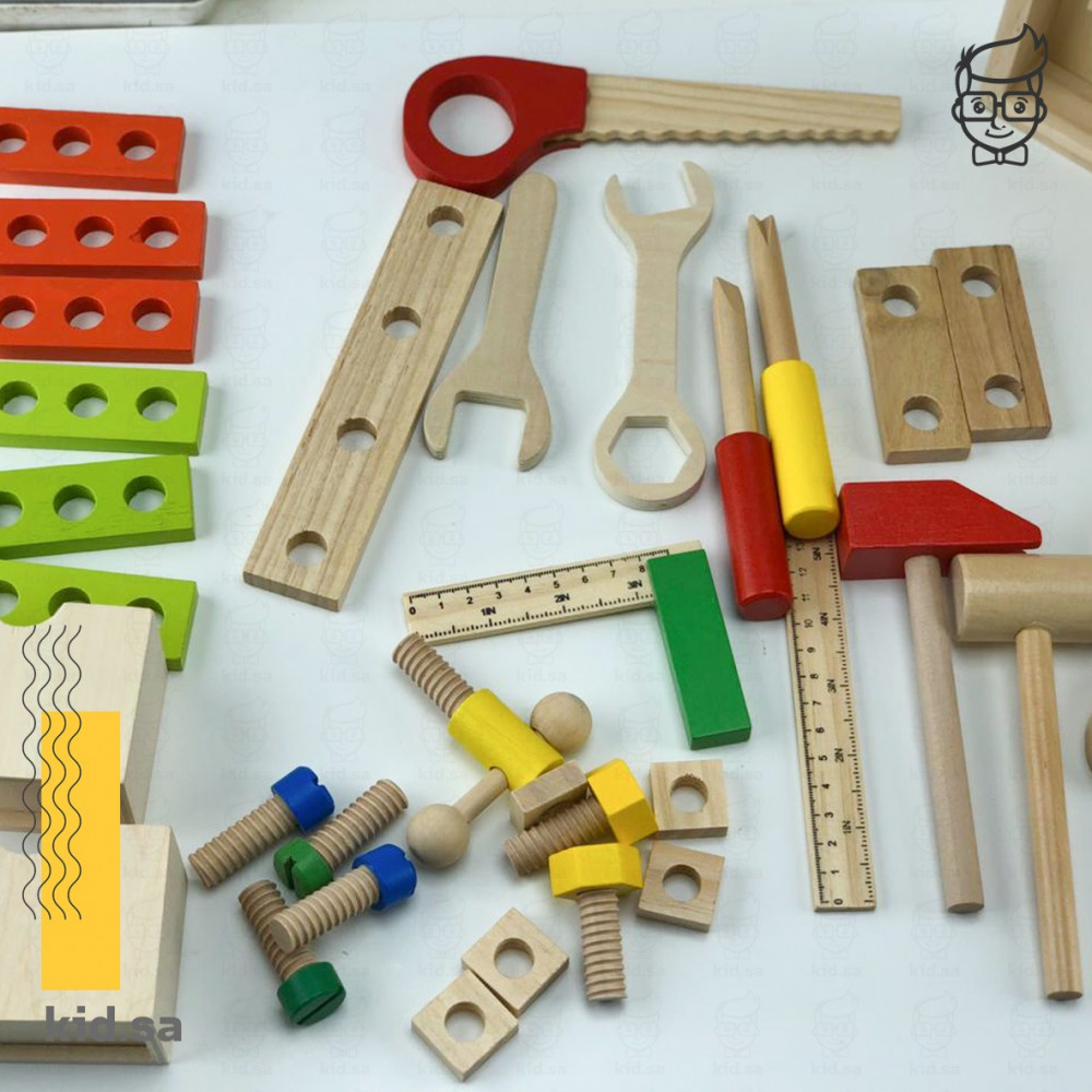العاب المعدات الخشبية للاطفال