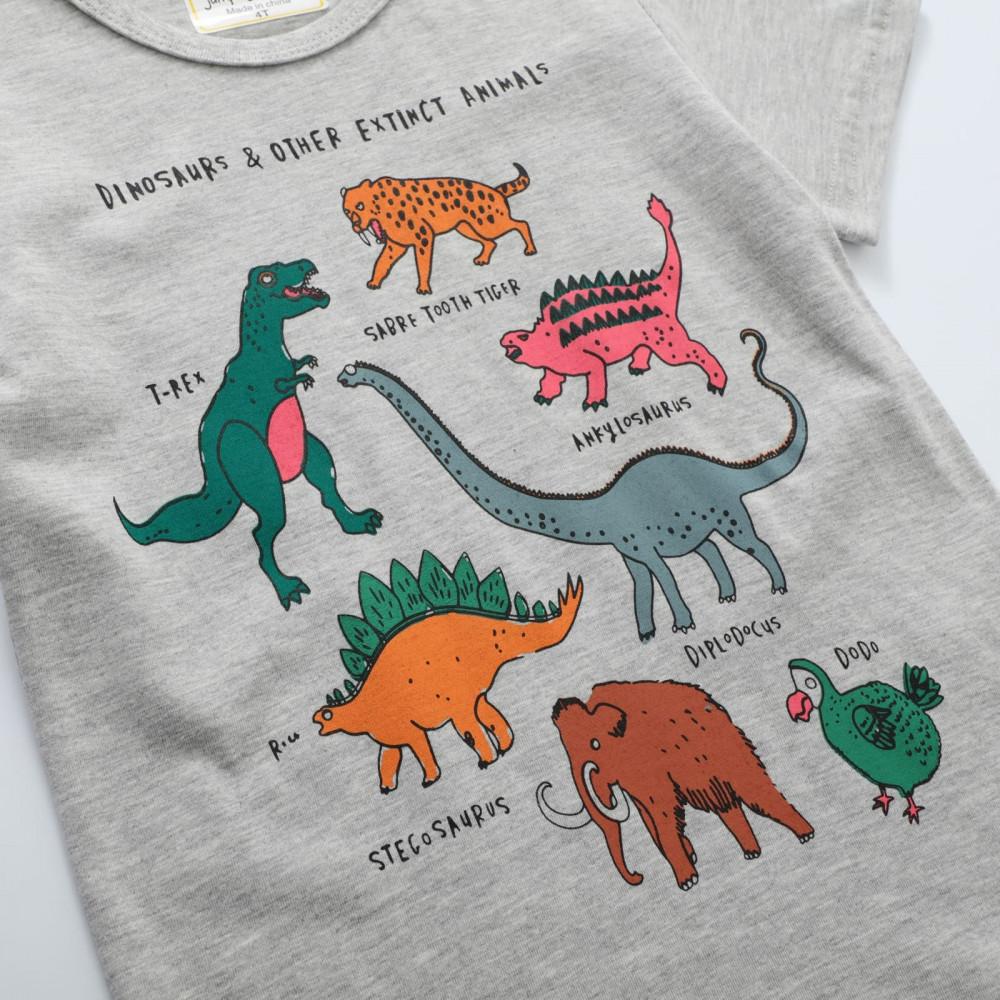 تيشيرت مطبوع بديناصورات
