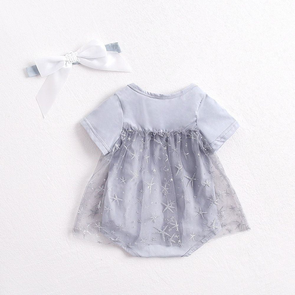 فستان بخصر عالي
