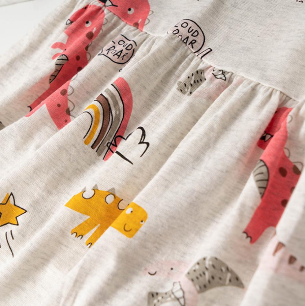 فستان برسومات ديناصورات