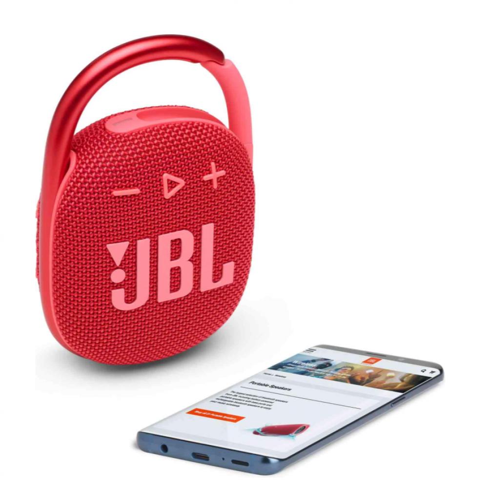 سماعة جى بى ال كليب4 بلوتوث احمر JBL CLIP 4
