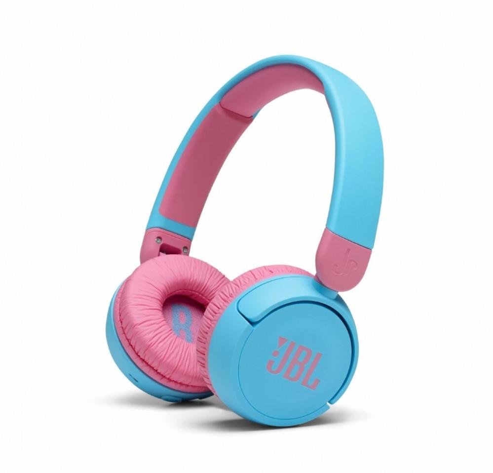 سماعة راس لاسلكية للأطفال من جي بي إل أزرق