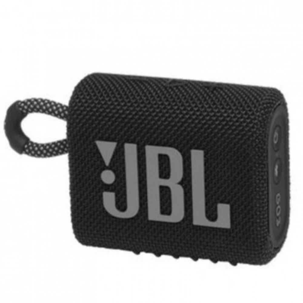 مكبر صوت جو 3 من جي بي ال محمول  بلوتوث أسود JBL GO3