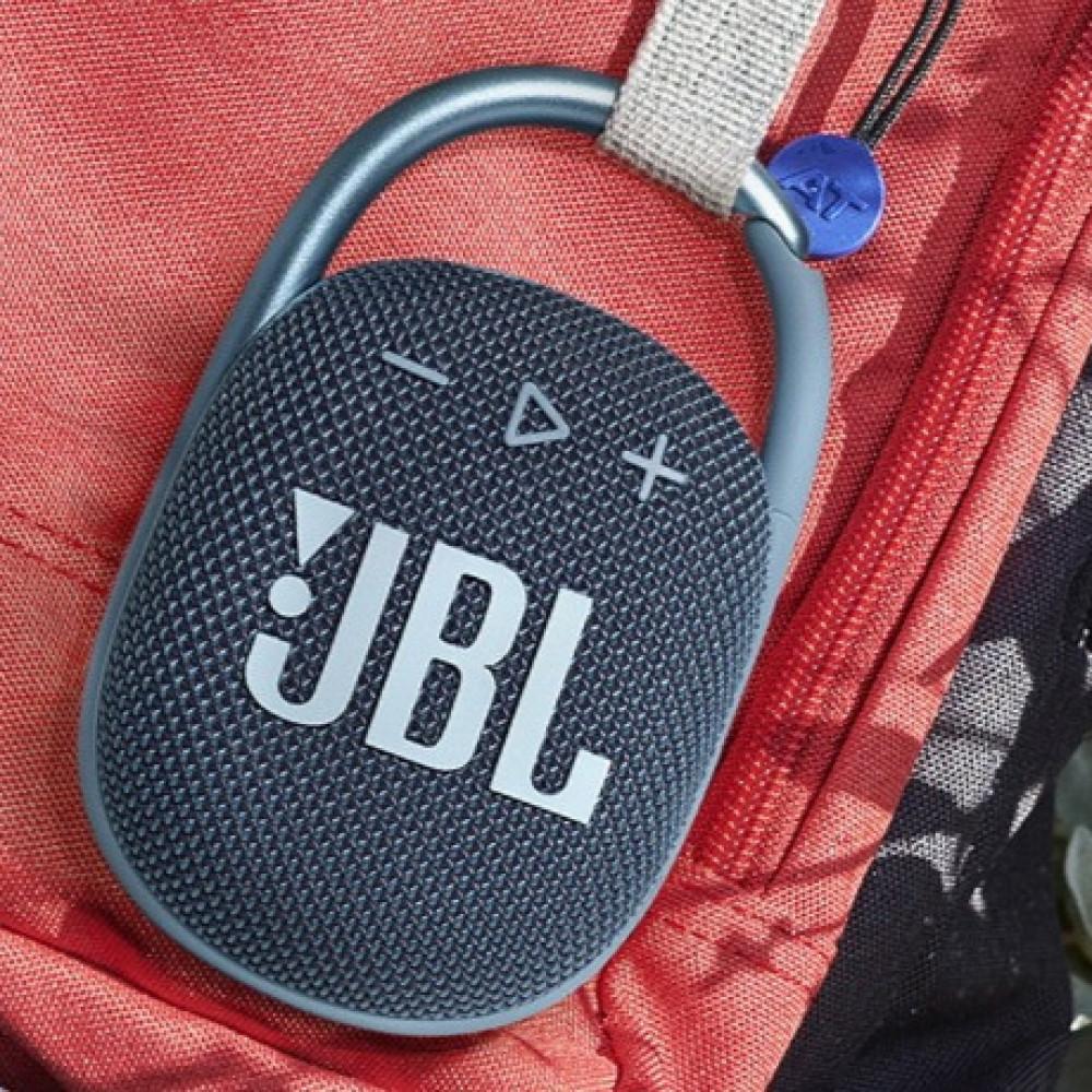 سماعة جى بى ال كليب4 بلوتوث ازرق JBL CLIP 4