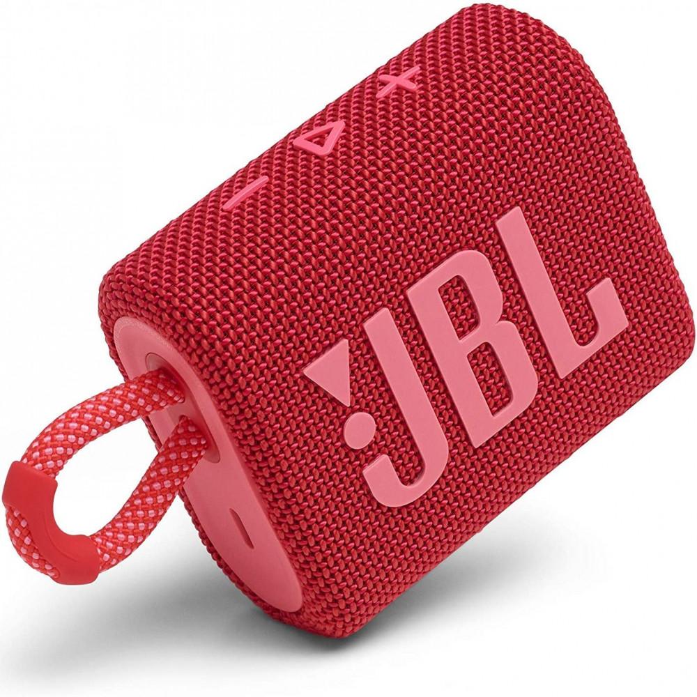 مكبر صوت جو 3 من جي بي ال محمول  بلوتوث أحمر JBL GO3