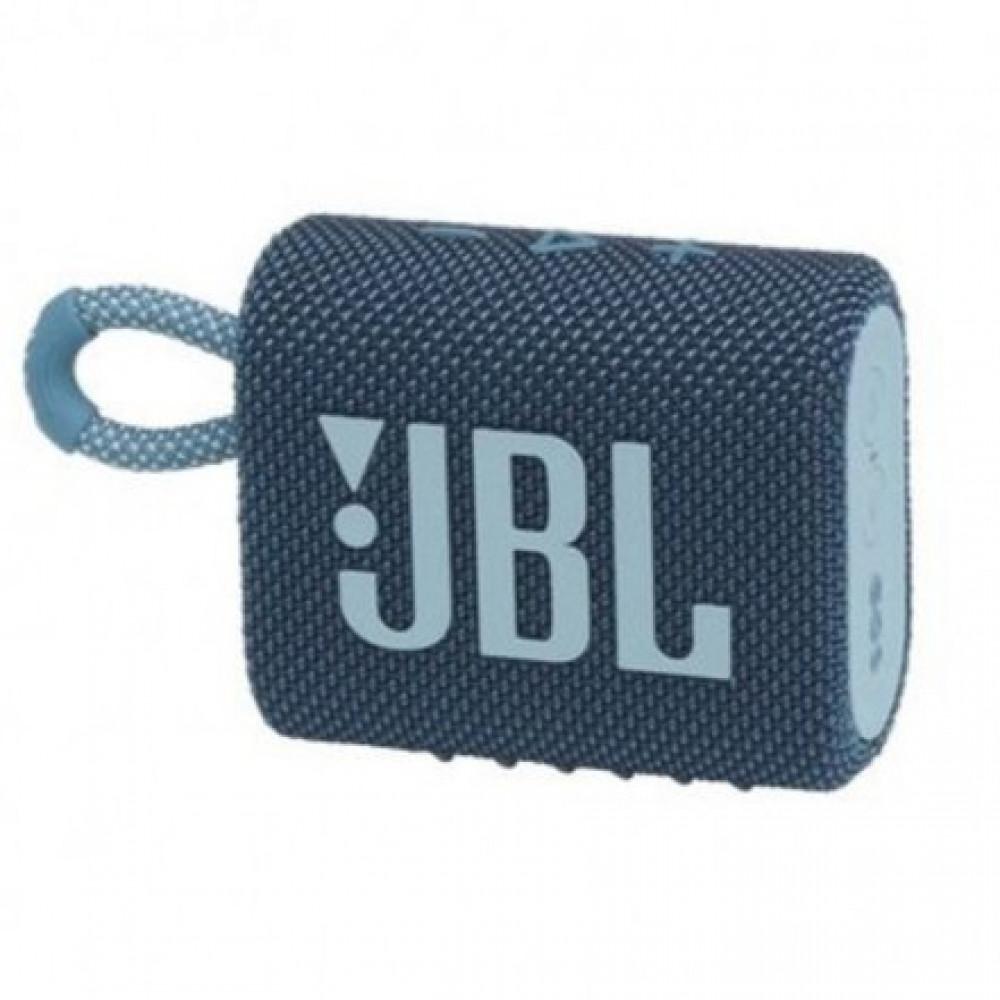 مكبر صوت جو 3 من جي بي ال محمول  بلوتوث أزرق JBL GO3