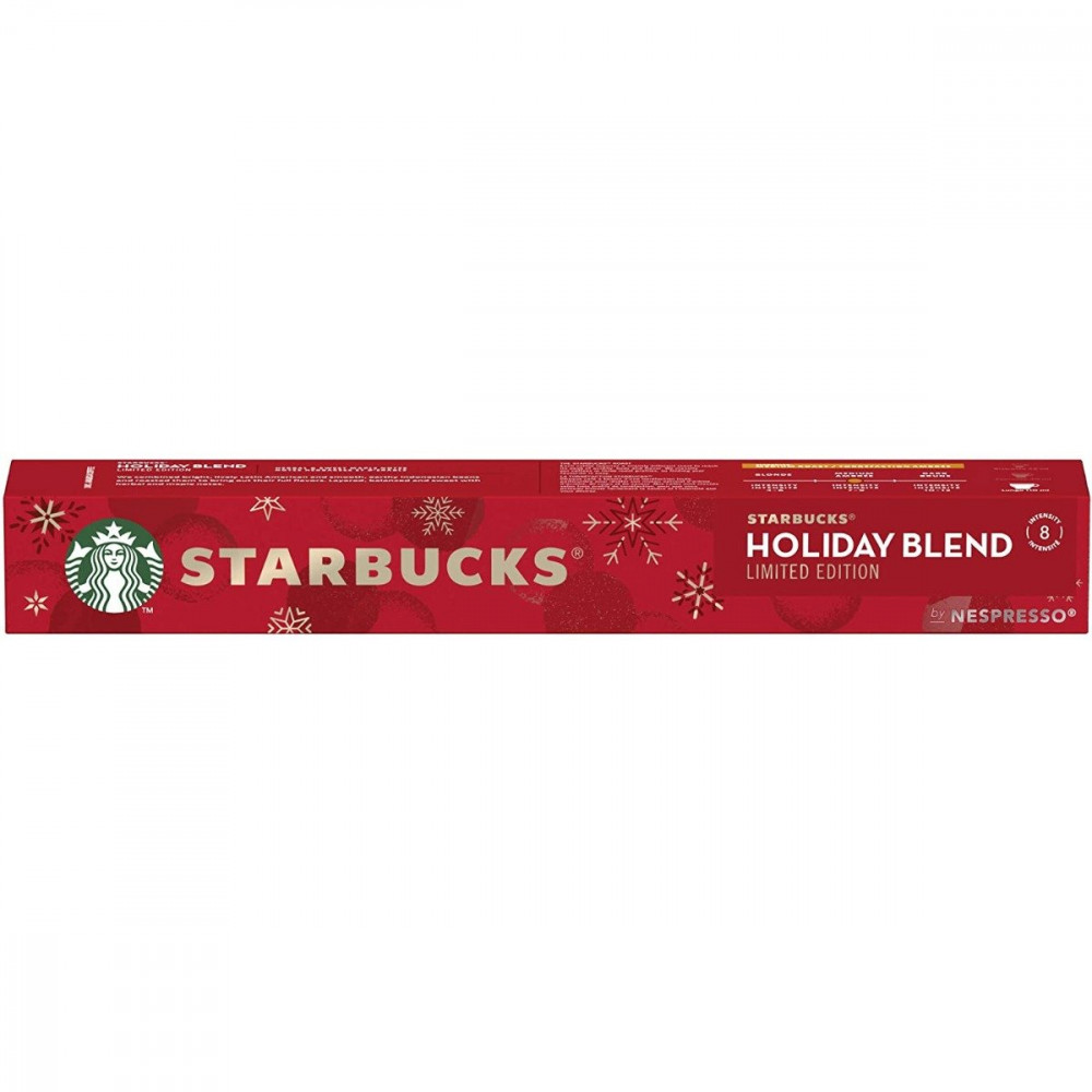 Starbucks Holiday Blend by Nespresso Coffee Pods