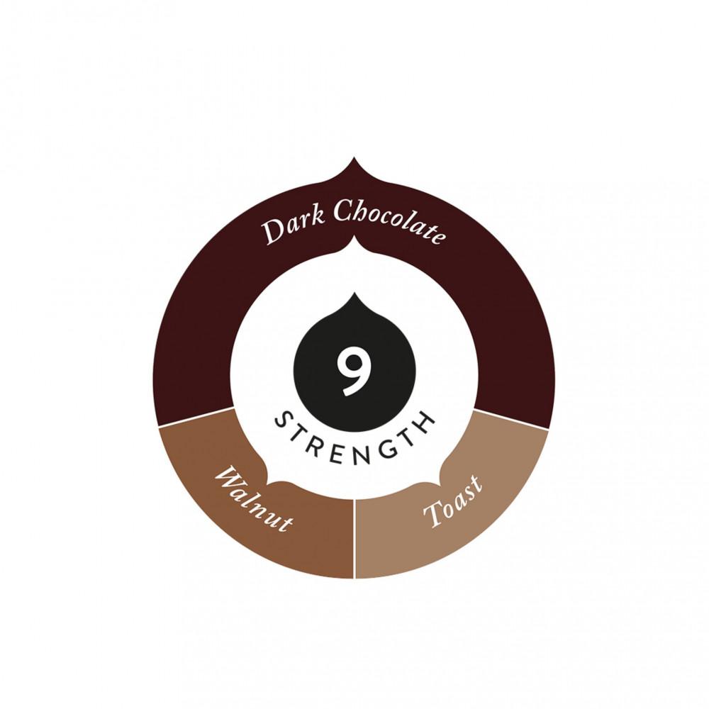 Crukafe كروكافيه قهوة اسبريسو تحميص غامق كبسولات نسبريسو الأصلية Nespr