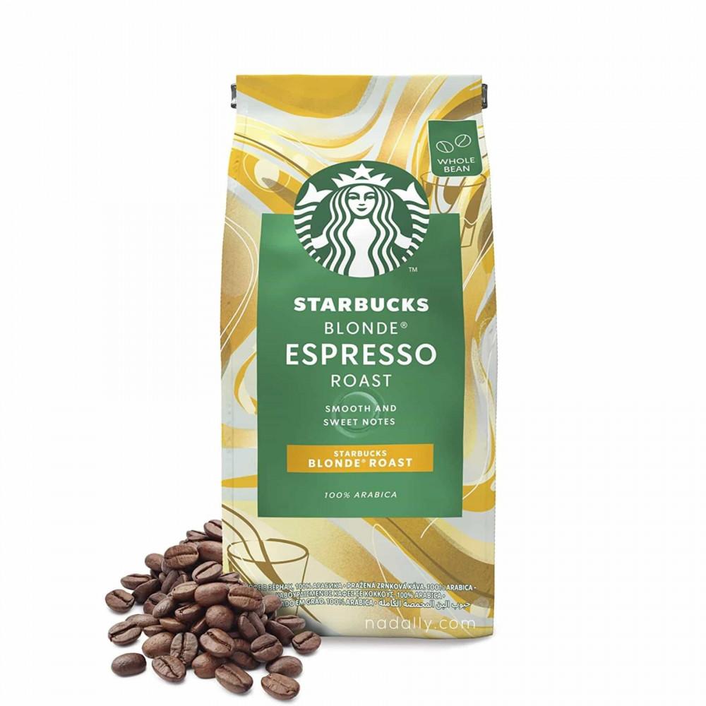 ستاربكس بلوند روست حبوب قهوة كاملة