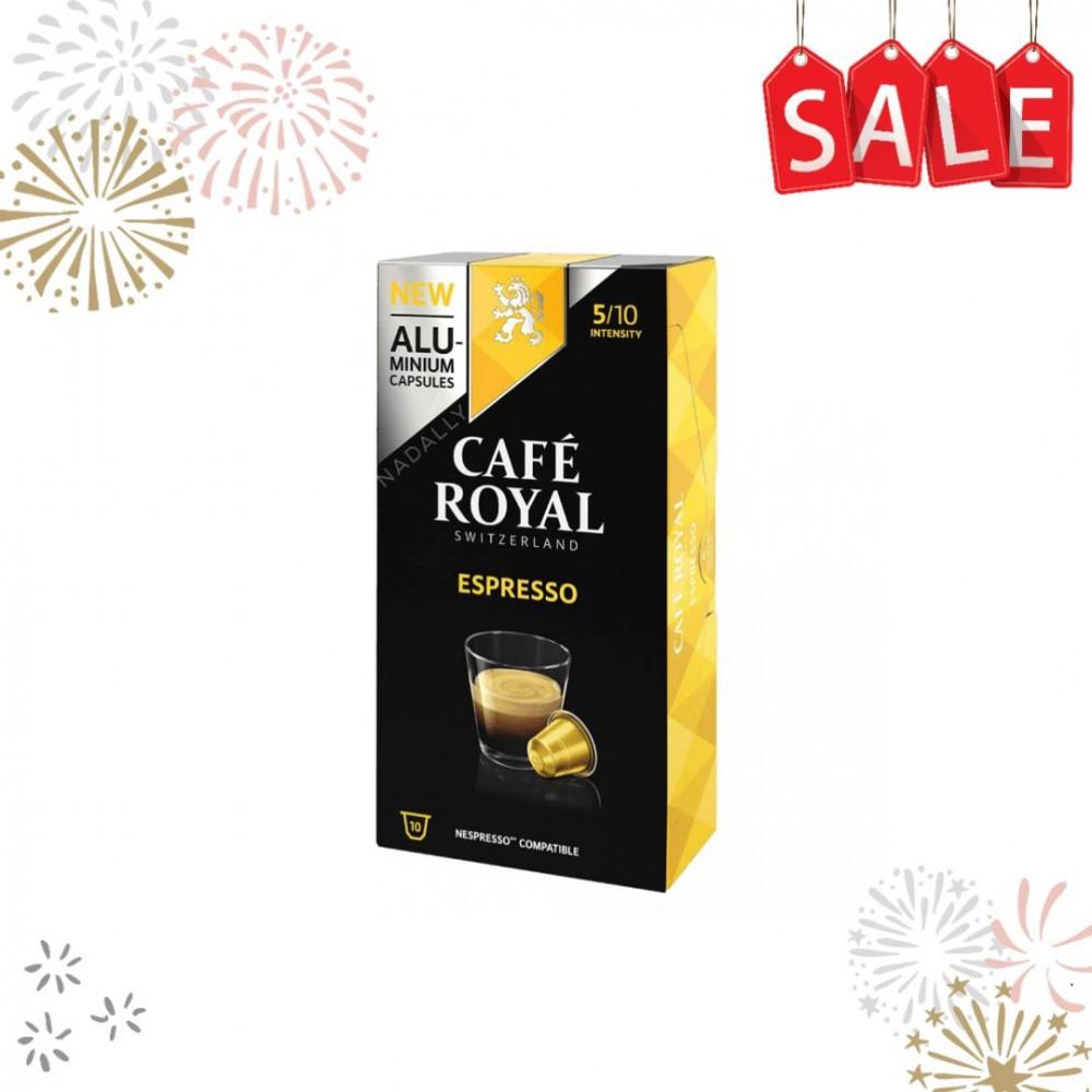 Cafe Royal قهوة كافي رويال اسبريسو كبسولات نسبريسو الأصلية Nespresso