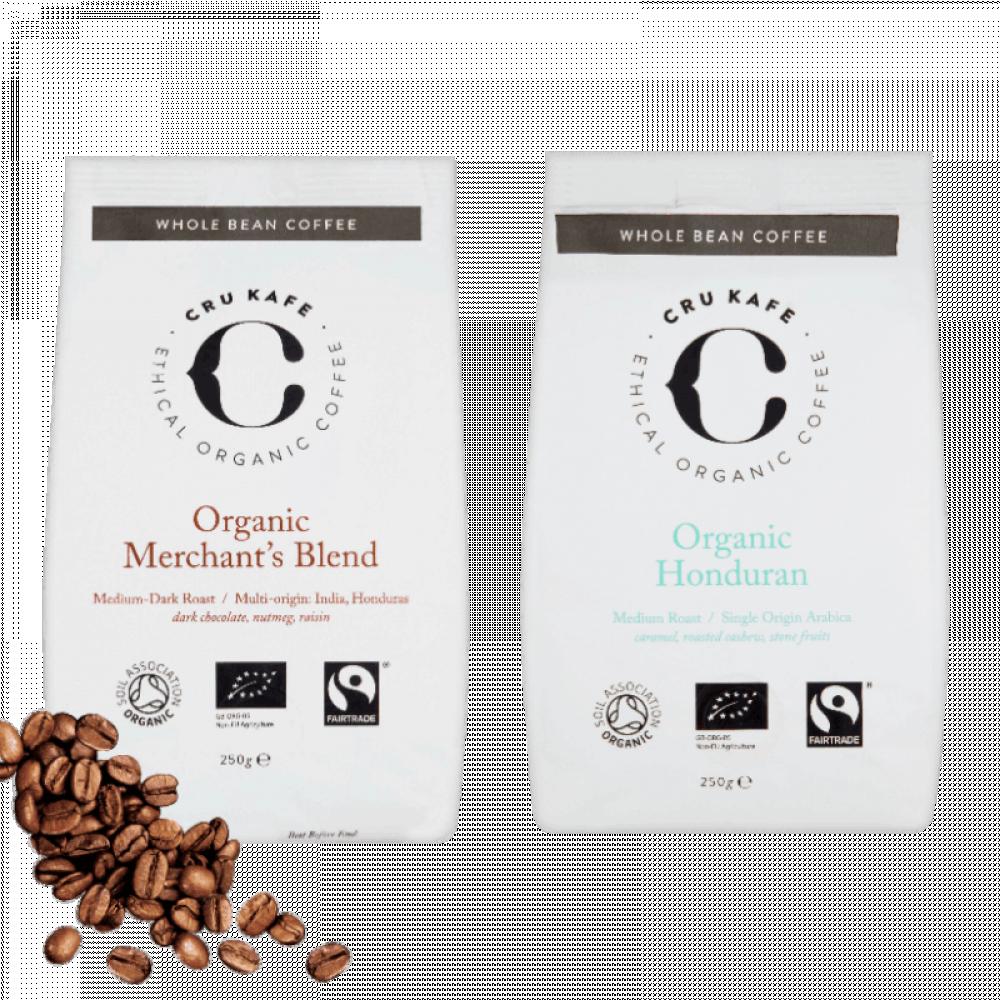 مجموعة كروكافيه حبوب القهوة الكاملة