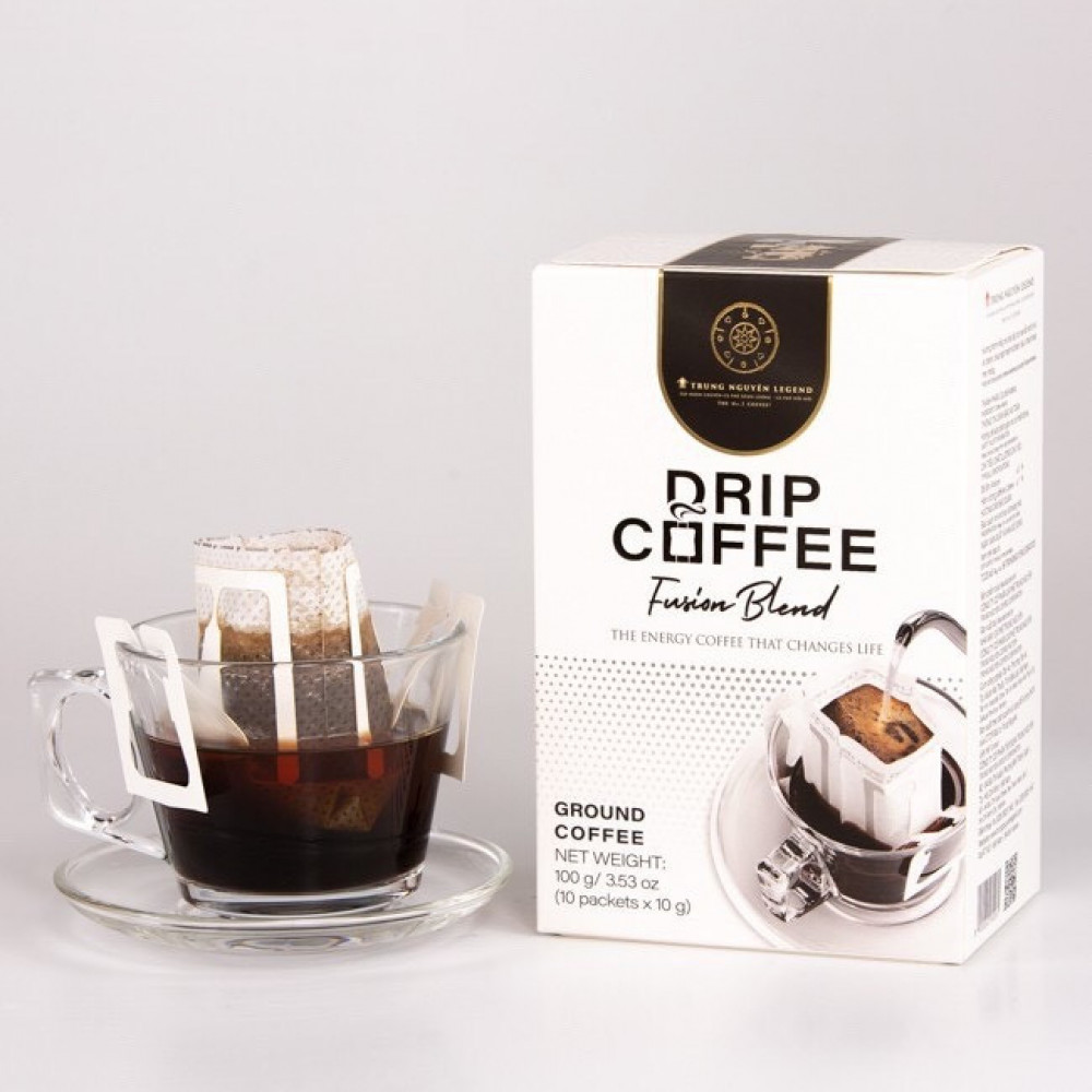 ليجند فيوجن بلند قهوة مقطرة drip coffee