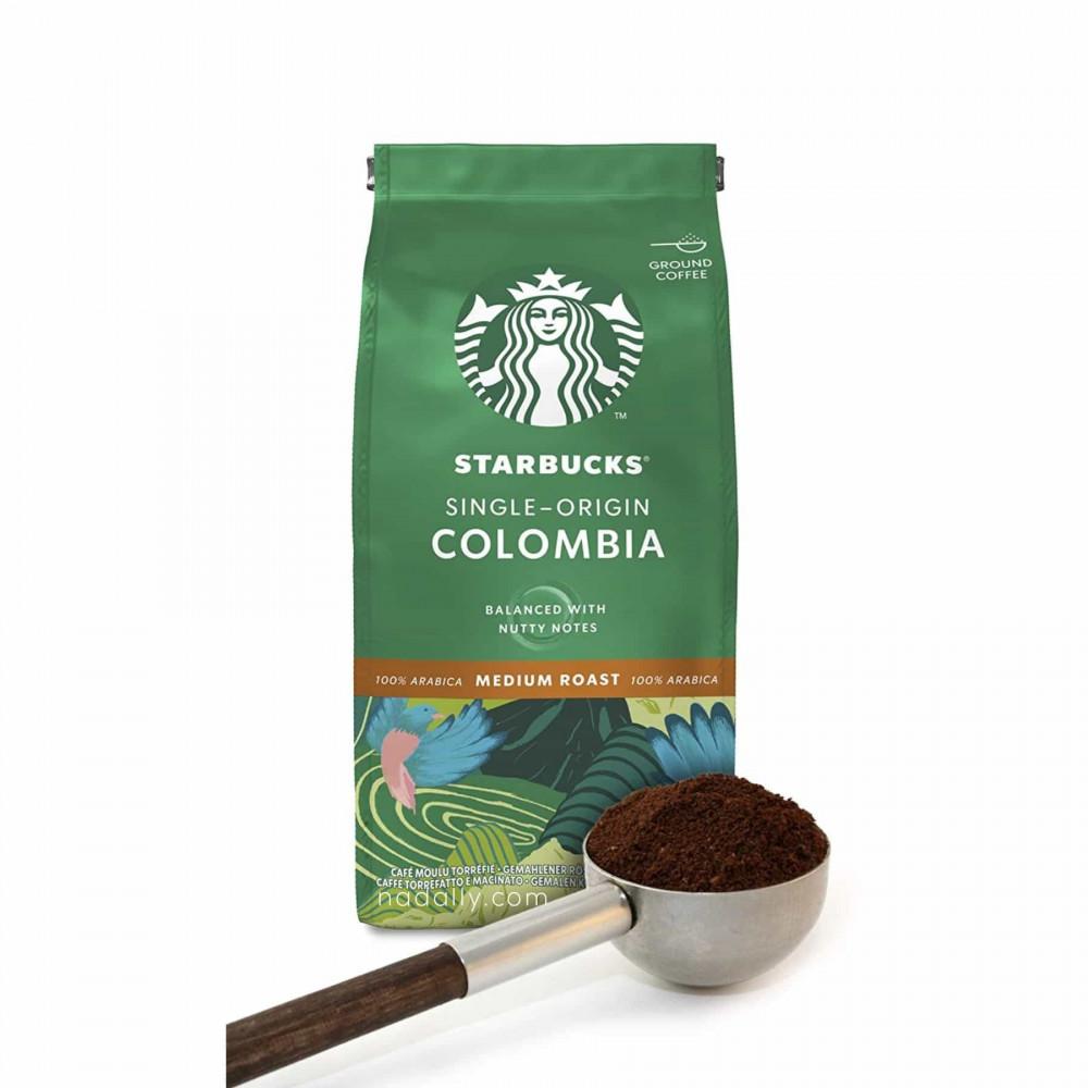 ستاربكس كولومبيا قهوة مطحونة