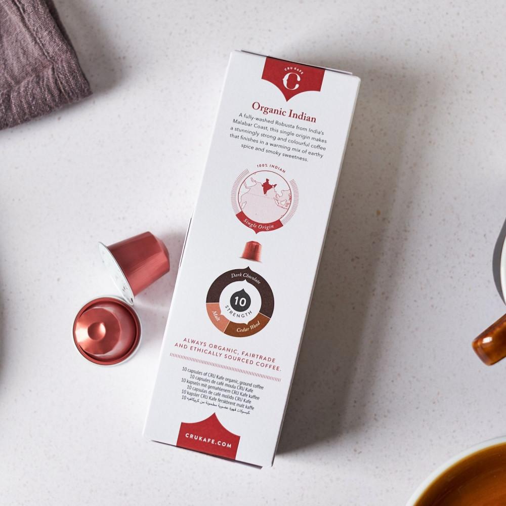 Crukafe كروكافيه قهوة الهند كبسولات نسبريسو الأصلية Nespresso