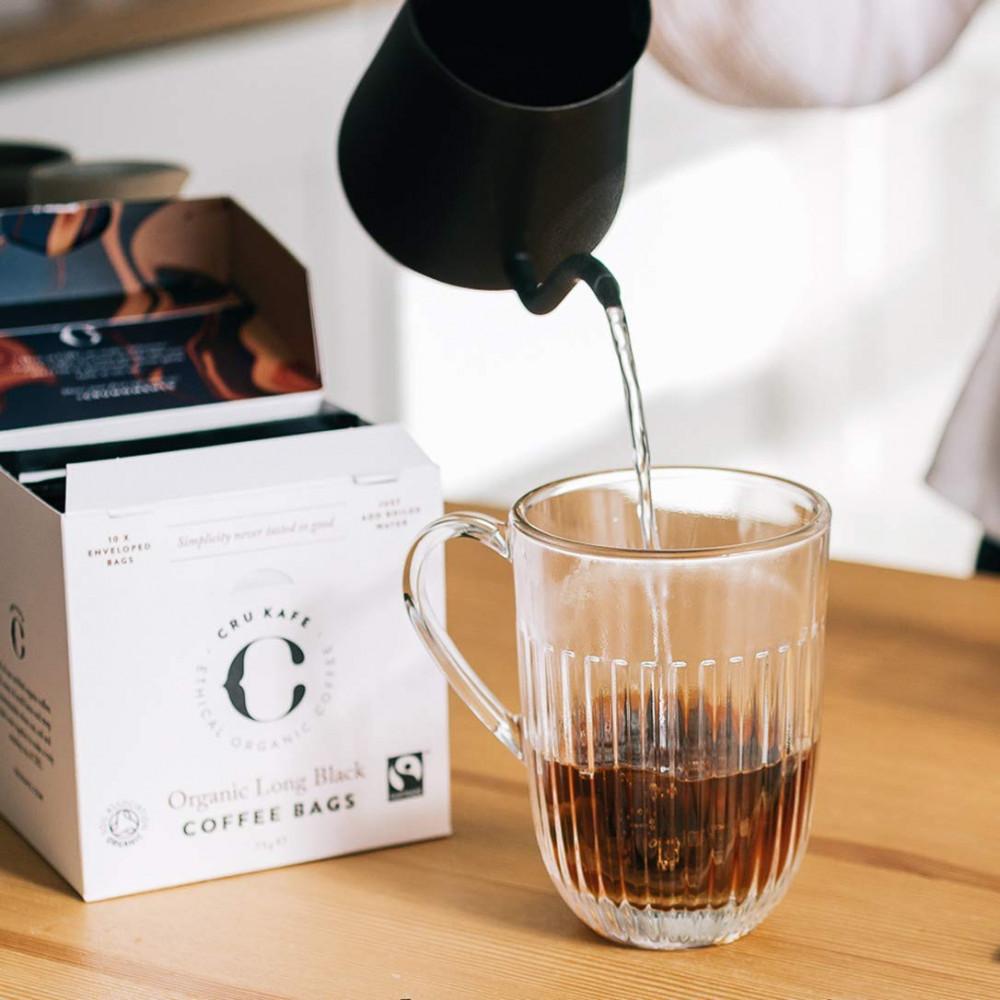 كروكافيه أكياس القهوة السوداء