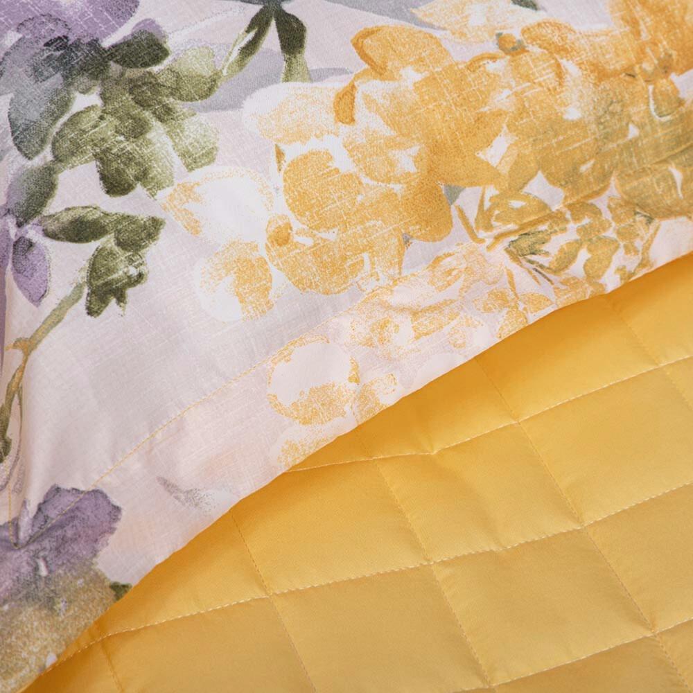 شراء مفرش صيفي مفرد 4 قطع - جيسيكا - وردي و اصفر - مفارش ميلين