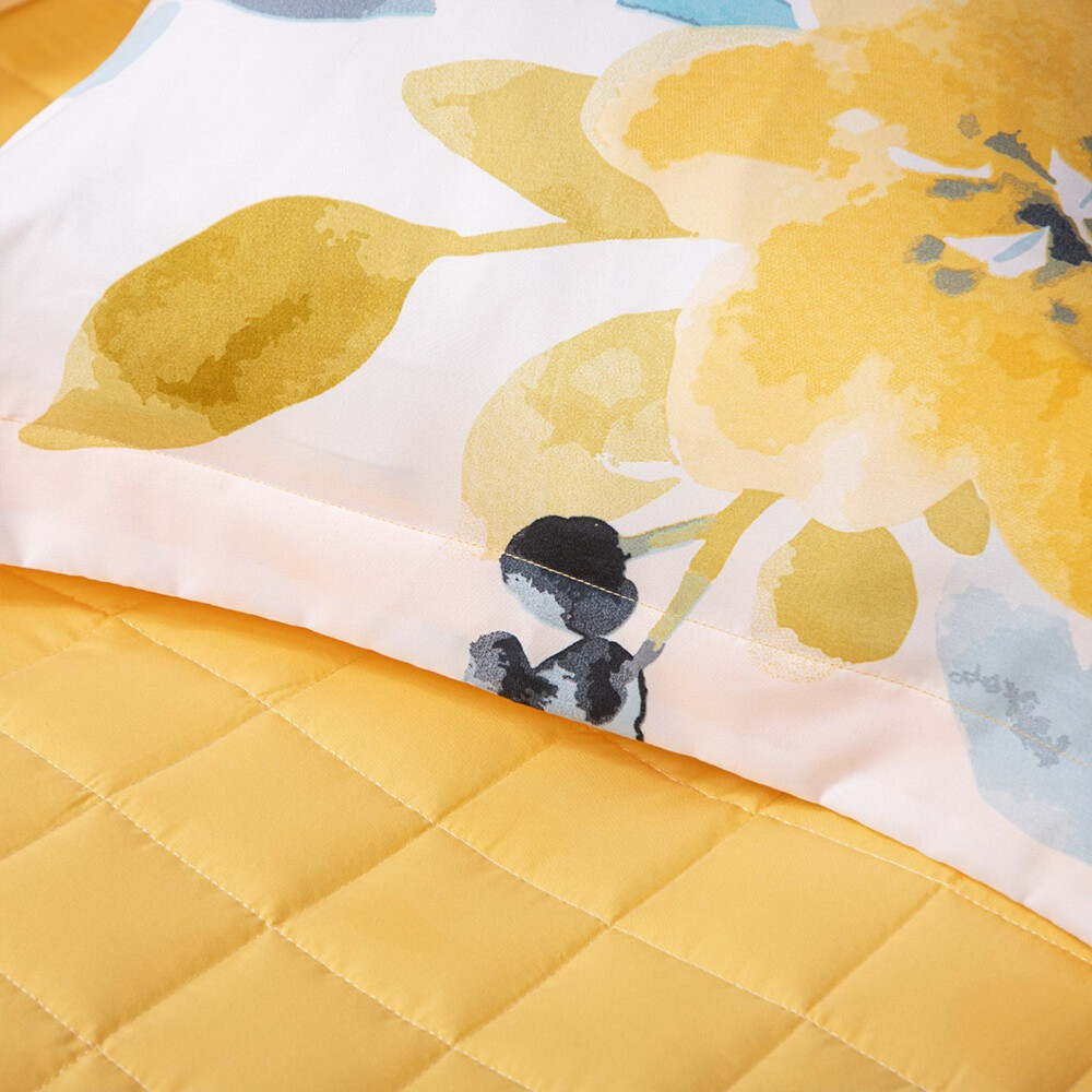 شراء مفرش صيفي مفرد 4 قطع - جيسيكا - لون أصفر - مفارش ميلين
