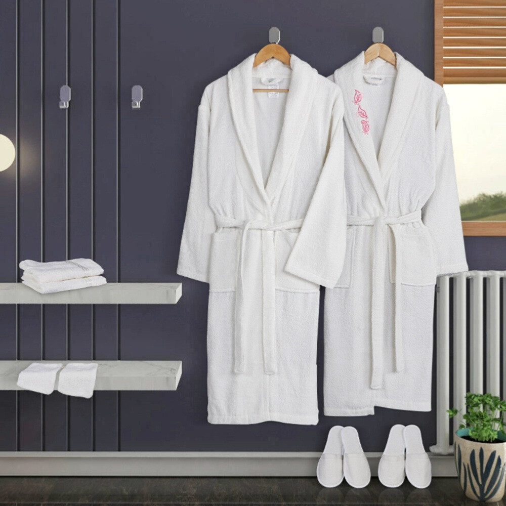 اجمل مجموعة ارواب استحمام تركي 10 قطع -روسلين - مفارش ميلين