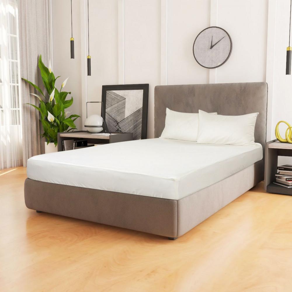 شرشف سرير قطن مزدوج 3 قطع- سكري - ميلين