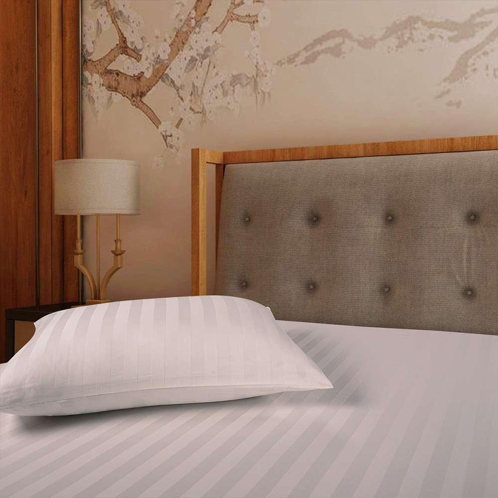 اجمل شرشف فندقي قطن مفرد ونص 2 قطعه - كريمي - ميلين
