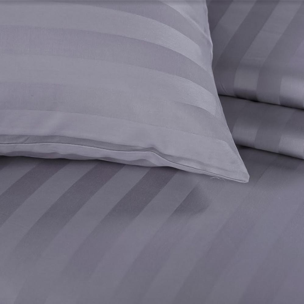 مفرش قطن  الغيمة الفندقي مفرد ونص - رمادي6 قطع - مفارش ميلين