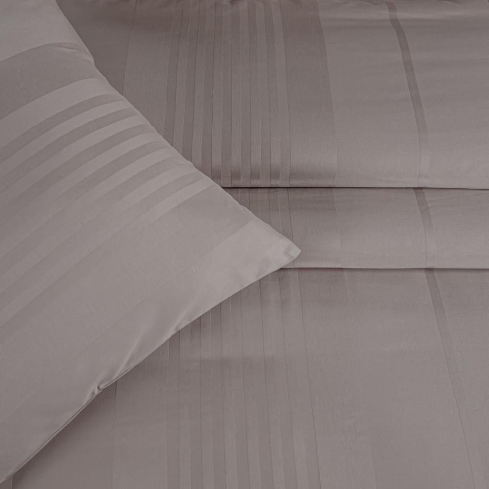 مفرش قطن الغيمة الفندقي مزدوج 9 قطع -بيج غامق - مفارش ميلين