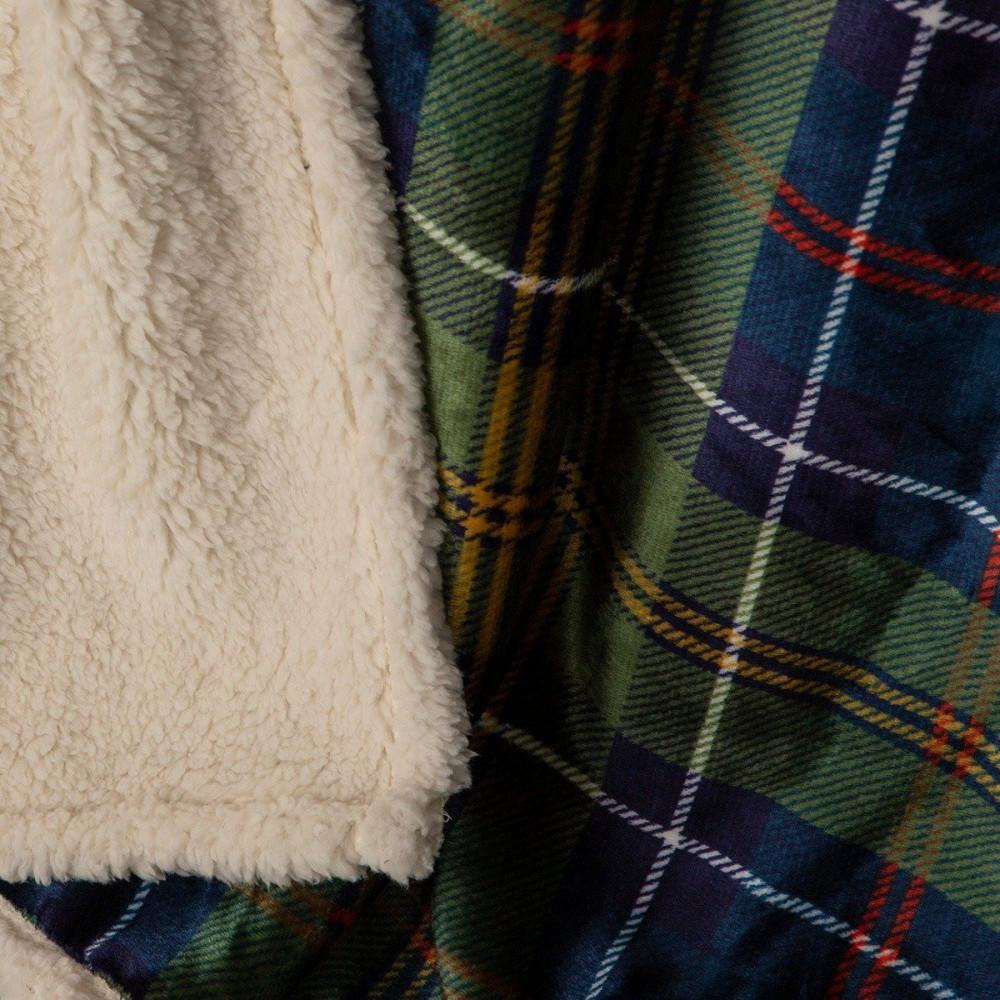 سعر بطانية كنب مخمل وفرو - أبريال - ازرق واخضر - مفارش ميلين