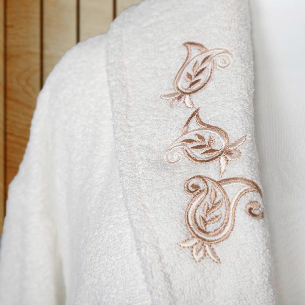شراء مجموعة ارواب استحمام تركي 10 قطع -روسلين - سكري وكريمي - ميلين