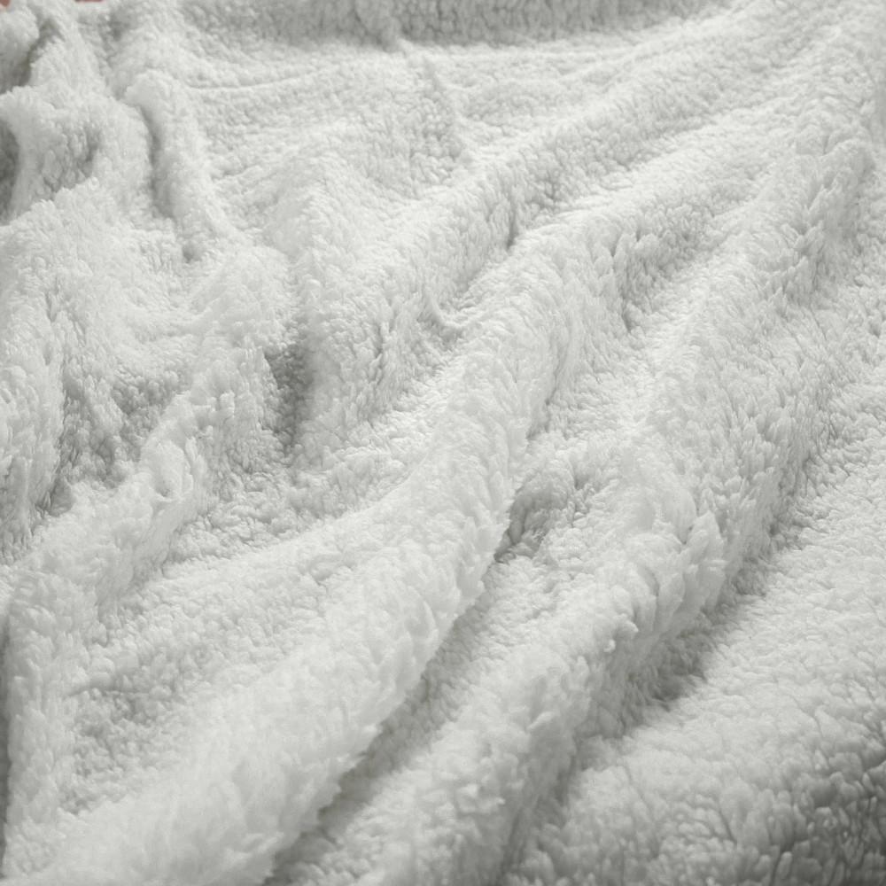 بطانية خفيفة مخمل وفرو مزدوج - ريلاس - متجر مفارش ميلين