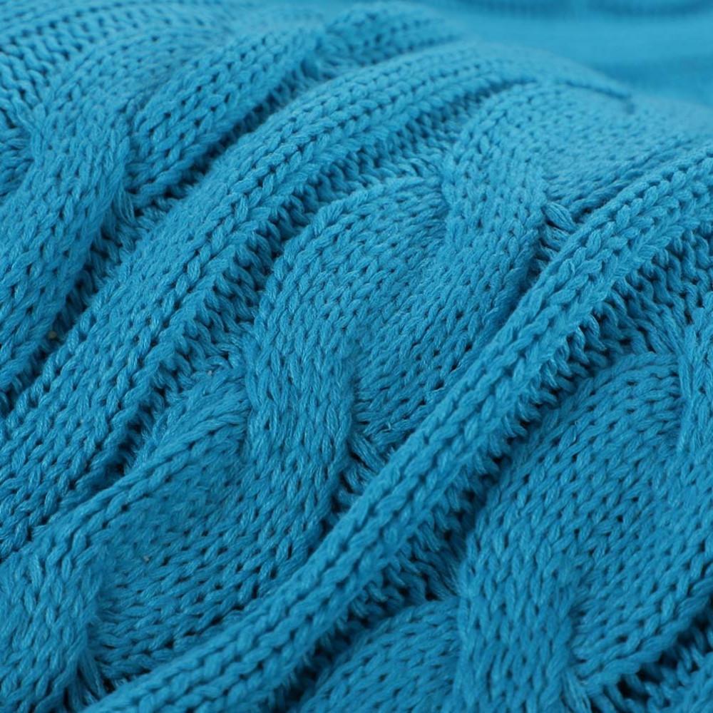 سعر رميه للكنب ميلڤيا لون ازرق - مفارش ميلين