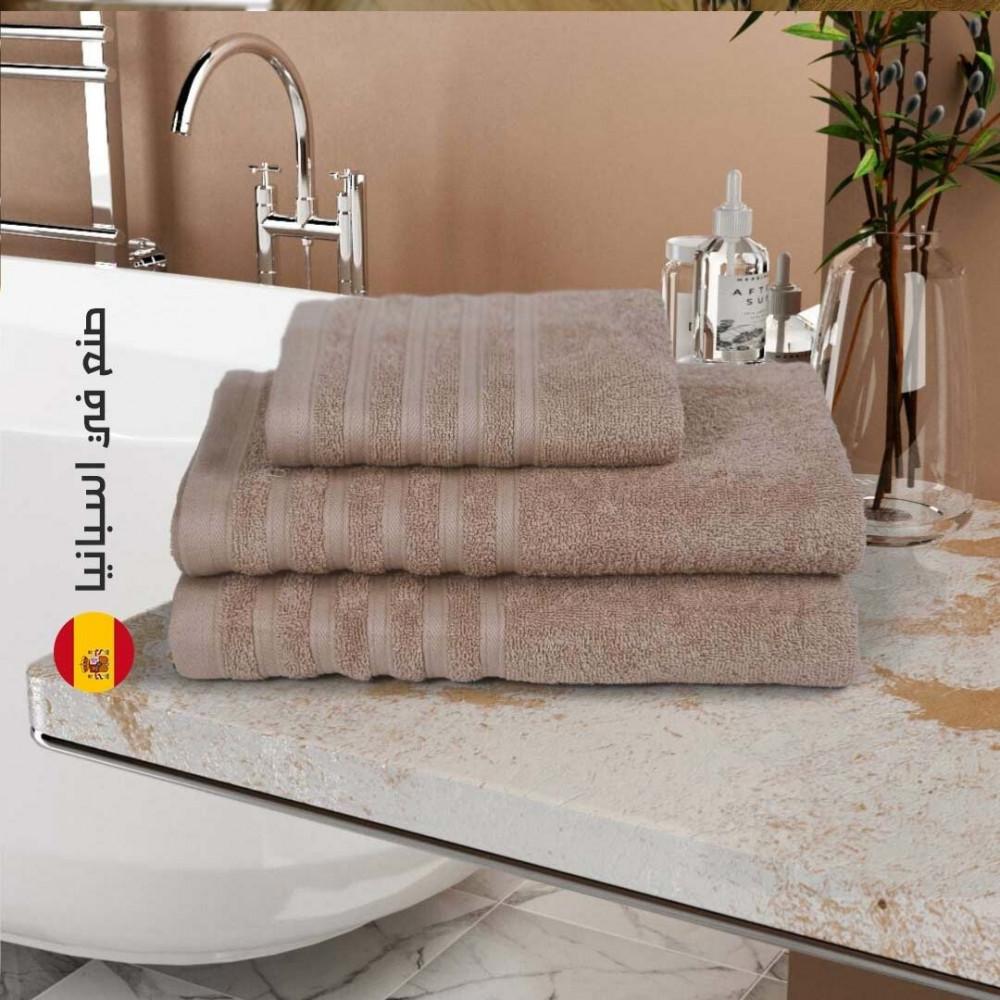 منشفة قطن اسبانية - كريمي - مفارش ميلين