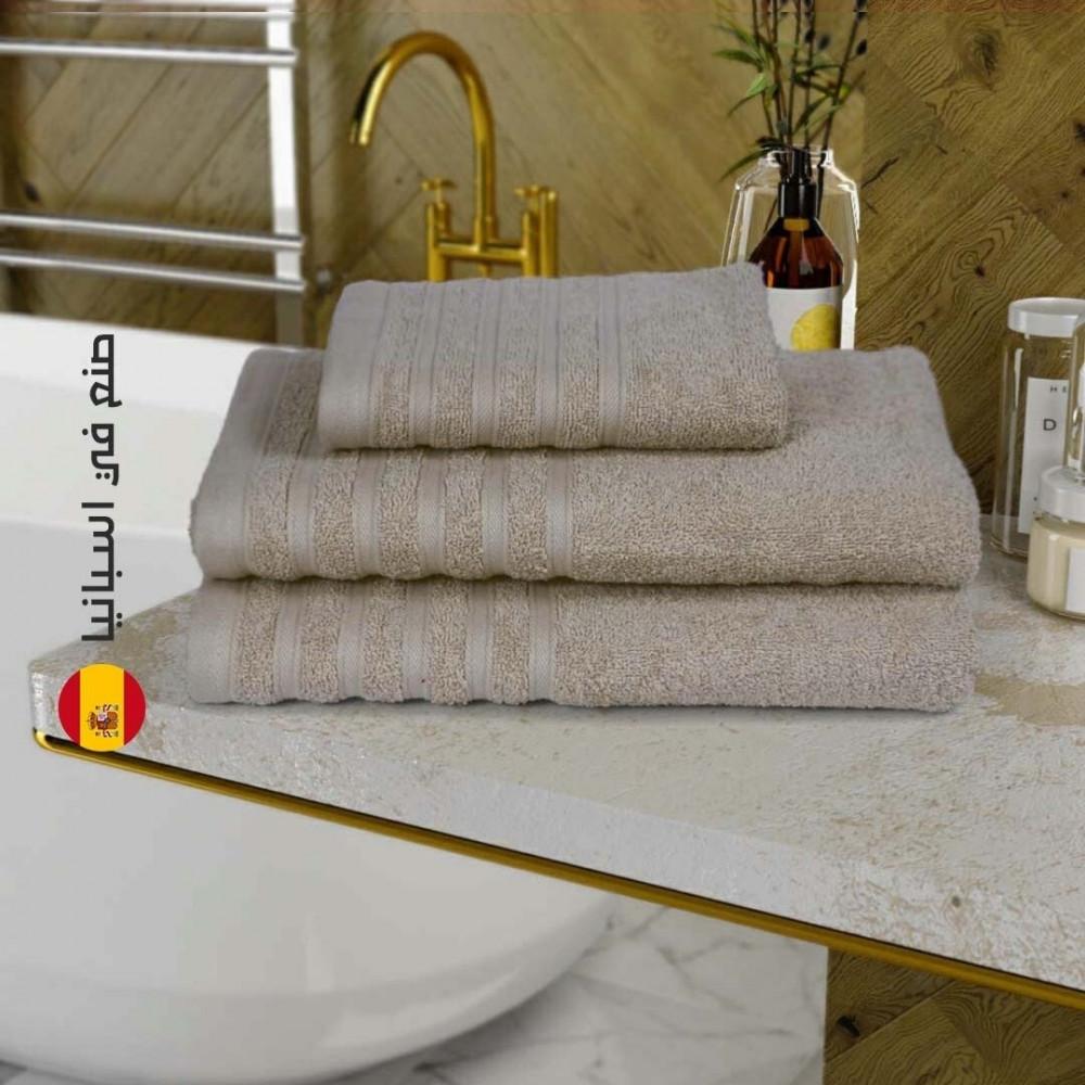 منشفة قطن اسبانية - السكري - متجر مفارش ميلين