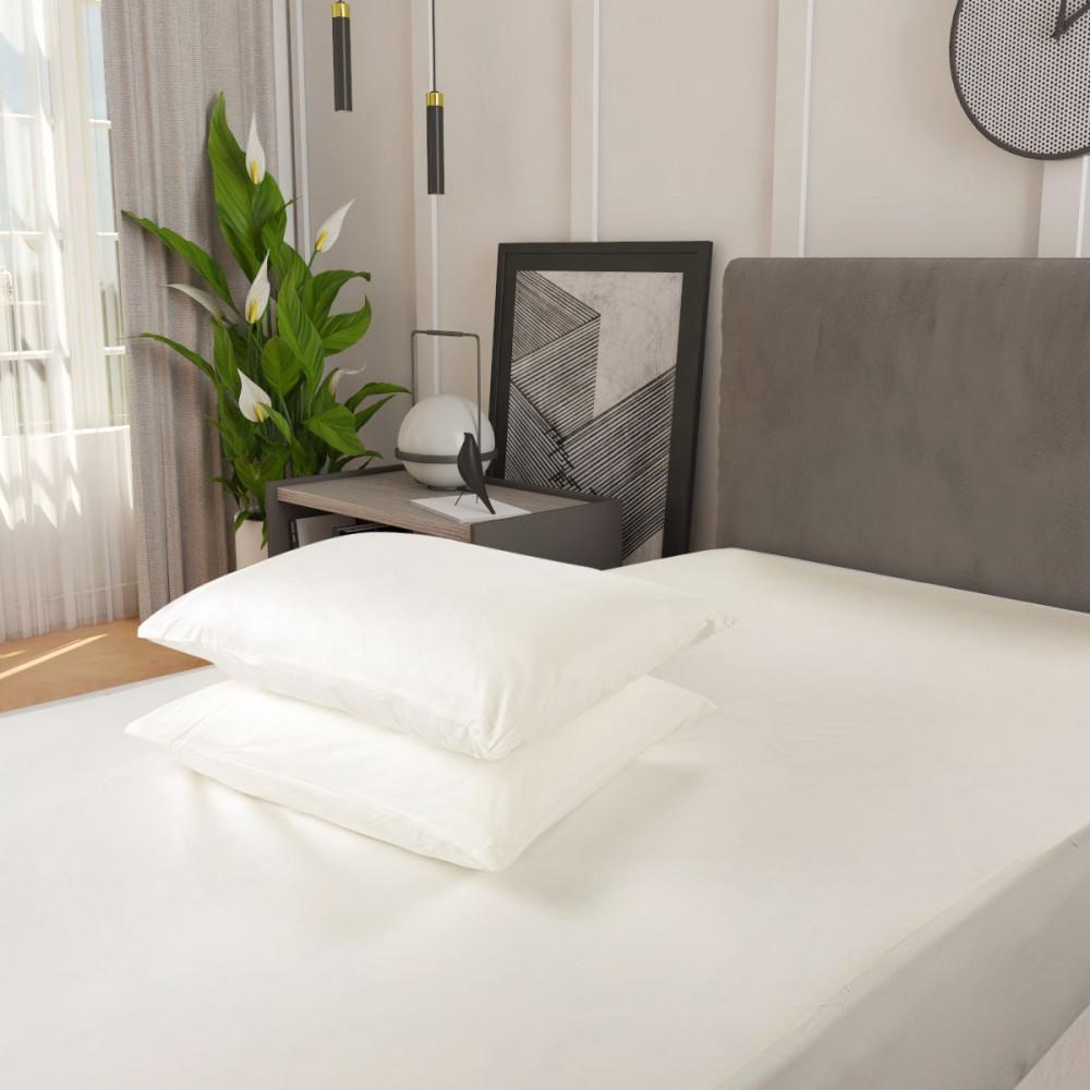 افضل شرشف سرير قطن مزدوج 3 قطع- سكري - ميلين