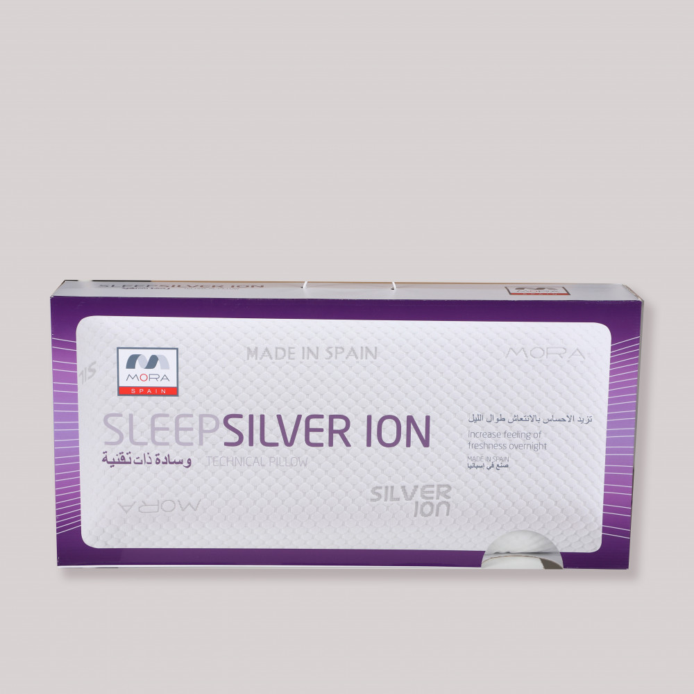 مخدة مورا ايونات مقاومة للروائح ASLEEP SILV - مفارش ميلين