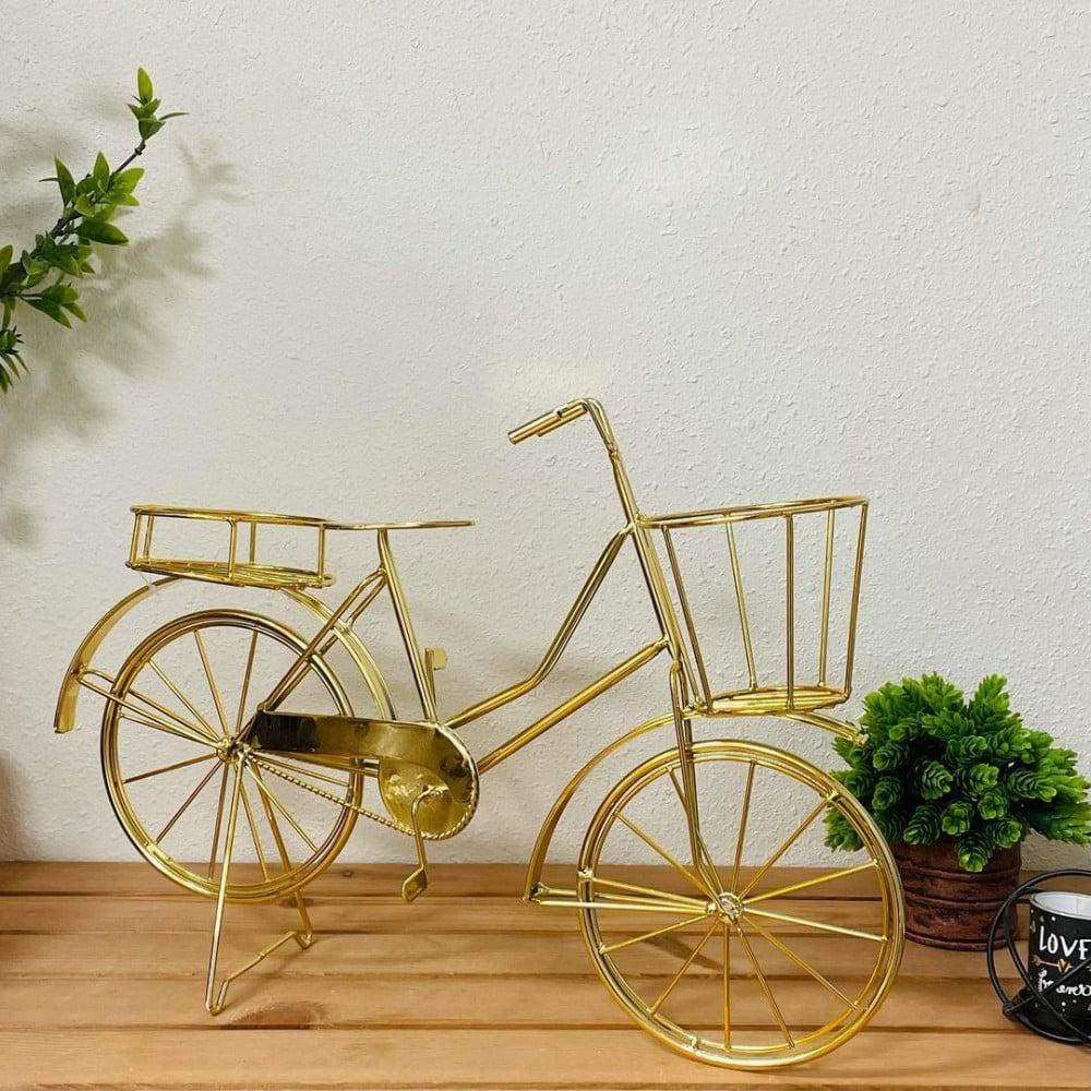 تحفه ستاند دراجة ذهبية انتيك تحف وهدايا انتيكات ديكور المنزل انتيك