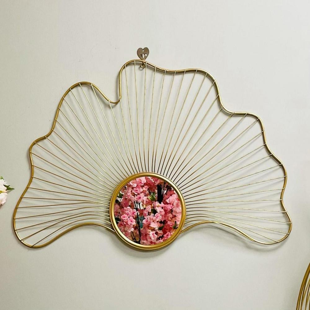 لوحة ومرايا حديد جدارية ذهبية شيك لوحات جدارية مرايا ديكورات المنزل