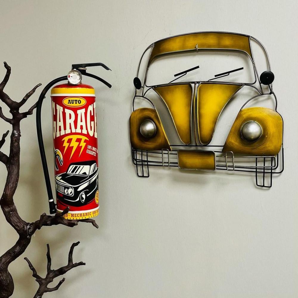واجهة سيارة حديد جدارية زيتي انتيك تعليقات جدارية ديكورات المنزل